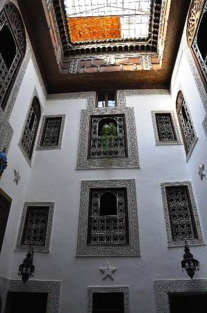 Riad Boujloud: patio (2)