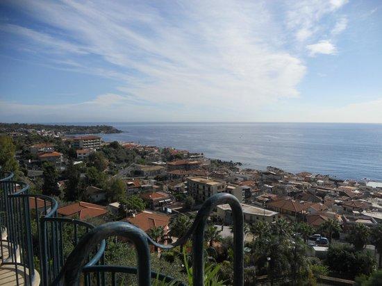 Hotel Eden Riviera: la vue