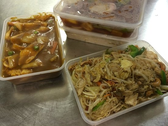 Pangs Chinese Restaurant Takeaway Chicken Curry Stir Fried Rice Noodle Thai Style
