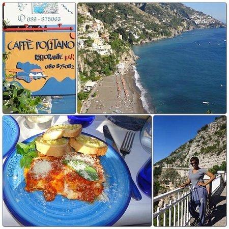 Caffè Positano : Beautiful views & great food @ Caffe Positano!