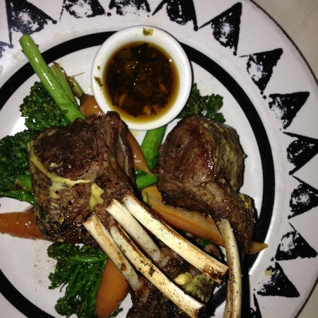 Painted Pony: Rack of Lamb