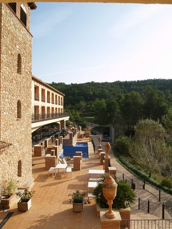 Figuerola Resort and Spa : VISTES DESDE LA SUITE GREGAL