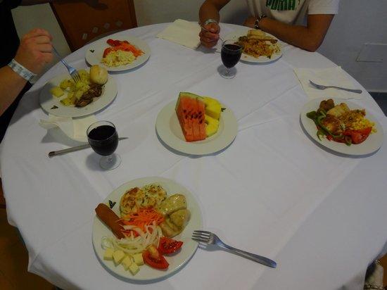 Hotel San Remo: very tasty food
