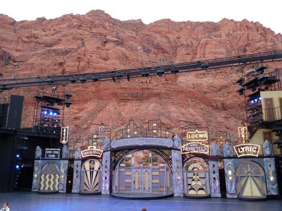 Tuacahn Amphitheatre: The stage