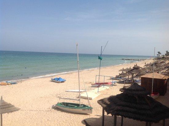 Club Oasis Marine : superbe vue du restaurant