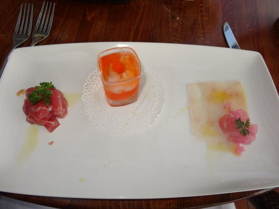 Restaurant Marina Grande: Starter part 1