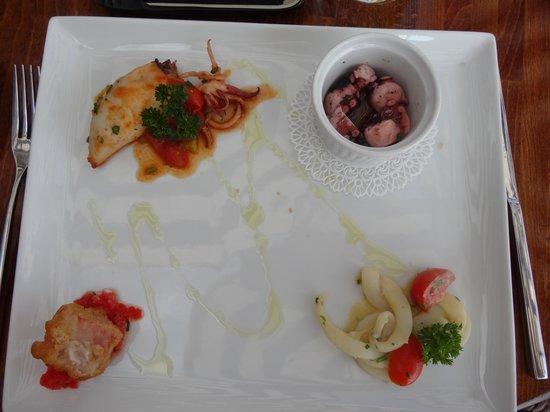 Restaurant Marina Grande: Starter part 2