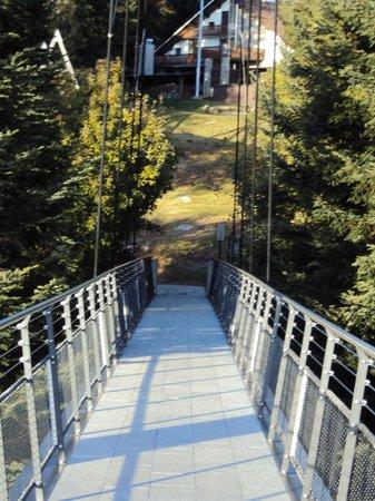 Albergo Cardada: passerella panoramica