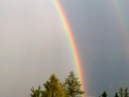 Albergo Cardada: arcobaleno