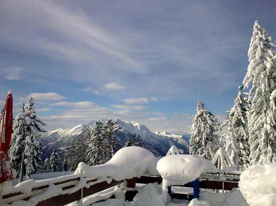 Albergo Cardada: panorama invernale