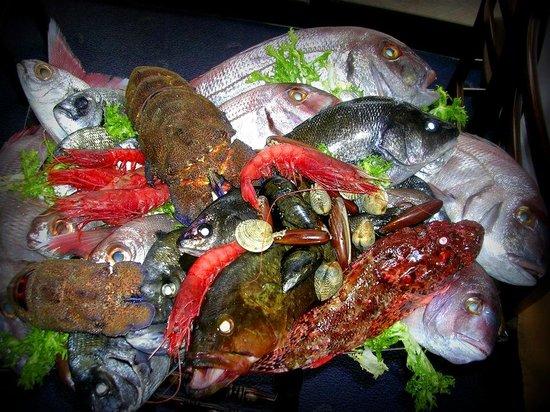 La Spigola Ristorante: Fish Display