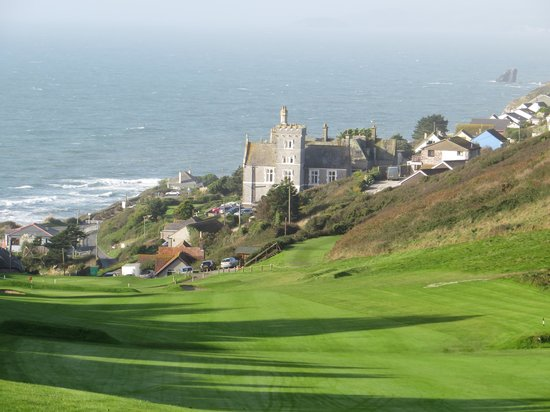 Whitsand Bay Hotel: View from the 1st green