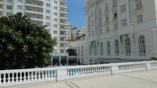 Belmond Copacabana Palace: área externa