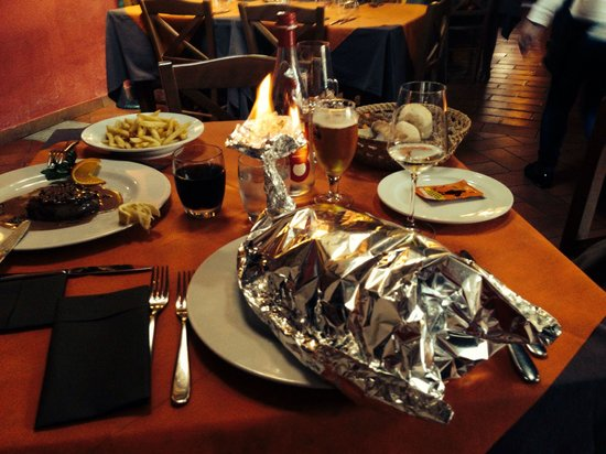 La Voglia: Pasta with seafood