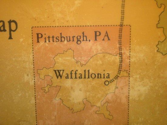 Waffallonia: Map