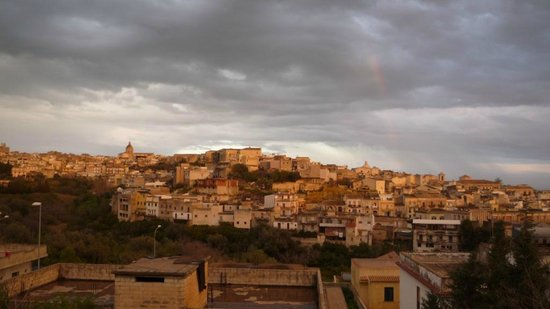 B&B Villa Ambra: View of Noto from rooftop terrace