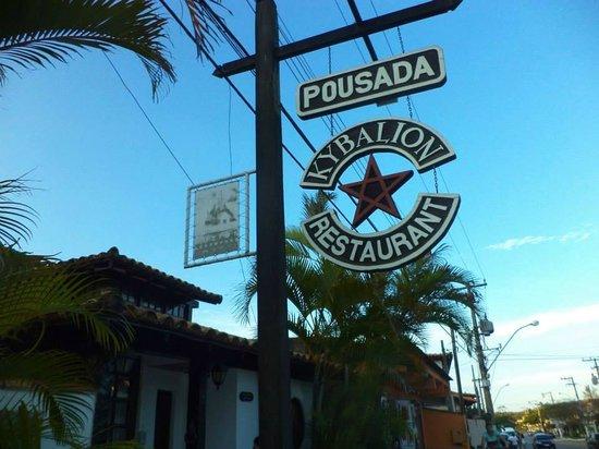 Kybalion Pousada Hotel : Entrada a la Pousada