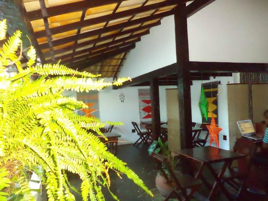 Kybalion Pousada Hotel : Lugar para desayunar