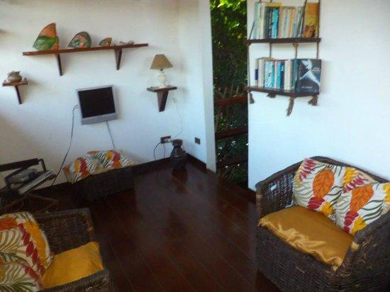 Kybalion Pousada Hotel : Sala de estar