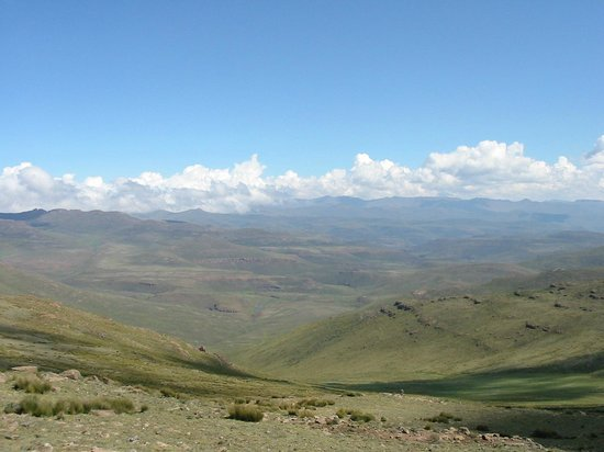 On top of the world ? - Sani Pass, Lesotho