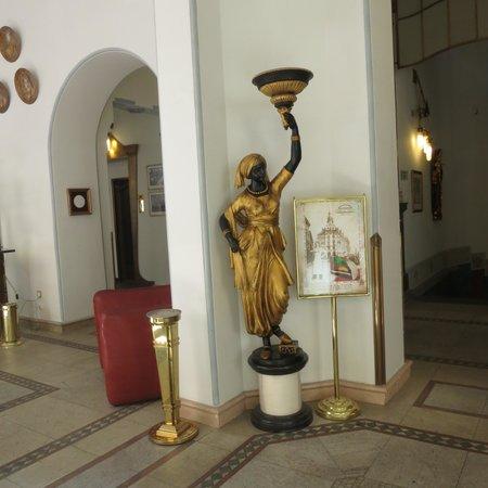 Hotel Paris Prague: Reception