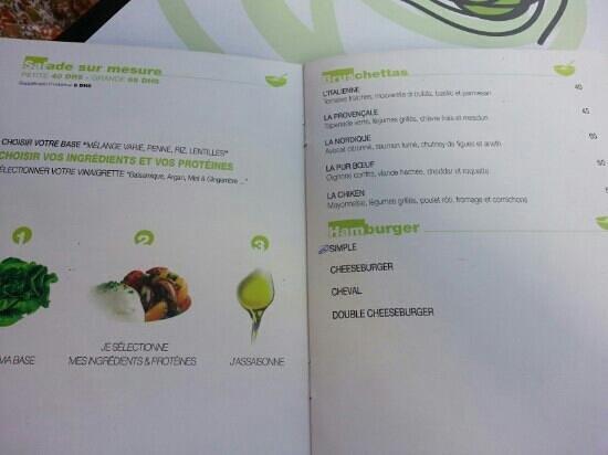 Oly's : menu
