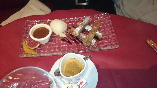Restaurant Au pont de l'Ill : le nem au chocolat