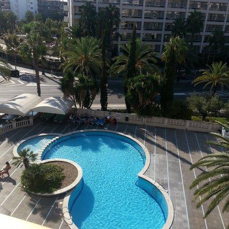 Los Peces Apartments : вид с балкона