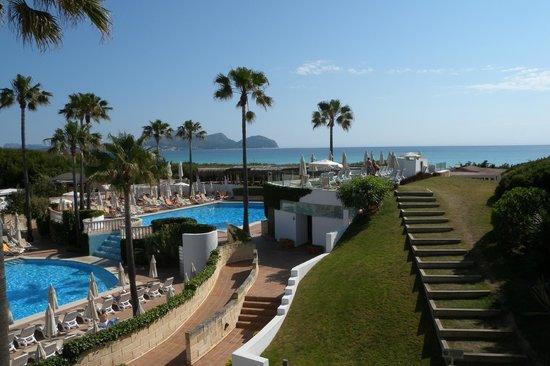 IBEROSTAR Albufera Playa : Вид в сторону моря