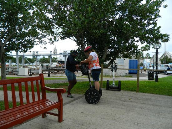 how to use a segway