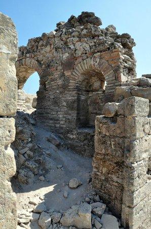 Greek Amphitheater: ruins