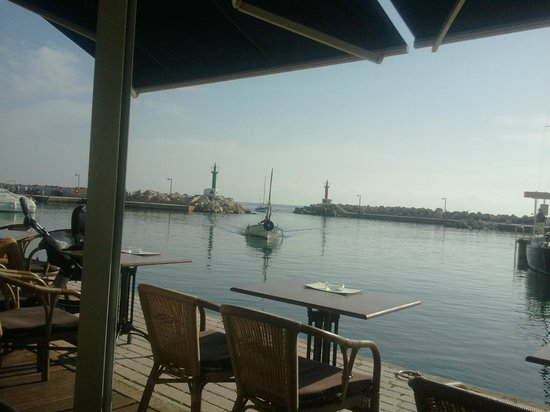 cafe thalassa: View from cafe