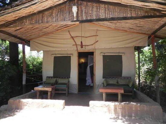 Oloshaiki Camp: la tente
