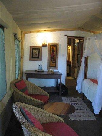 Oloshaiki Camp : chambre
