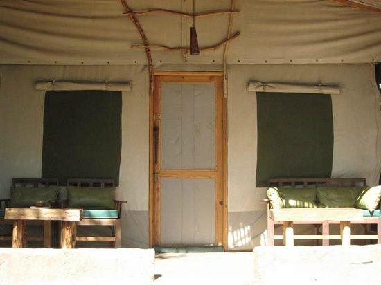 Oloshaiki Camp : tente