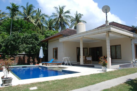 Yuli's Homestay : One of the two pools