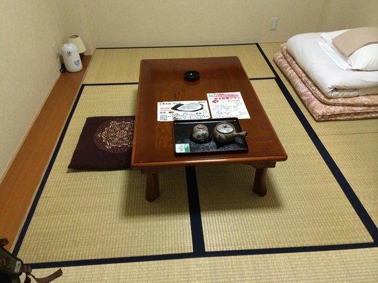 Hotel Monzen no Yu: 座椅子がほしい