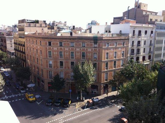 Catalonia Eixample 1864 : Vista do terraço