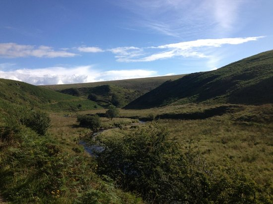 Exmoor Forest Inn: Walking route on the doorstep!
