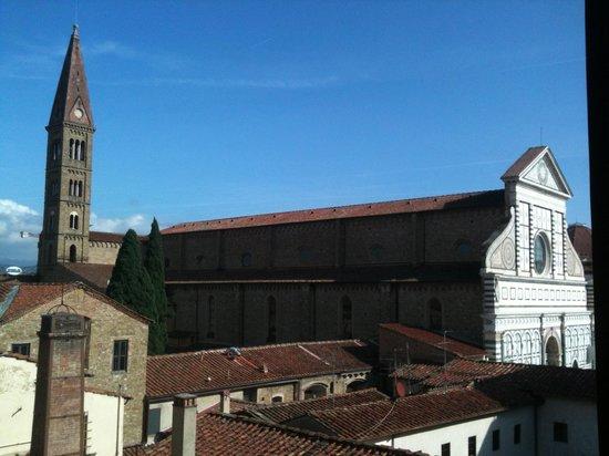 Palazzo dal Borgo Hotel Aprile: Vista dalla camera