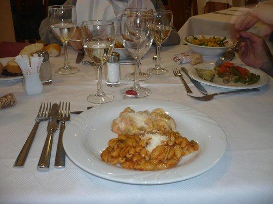 Marco Polo Terme : a cena sempre bis di pasta