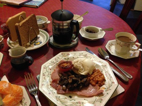 Priestville Guest House: The best breakfast ever!