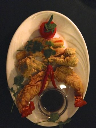 The Oriental Restaurant: Lobster Tempura