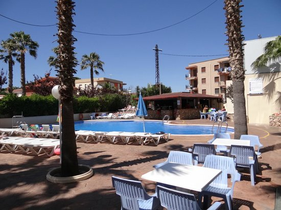 Hotel Villamarina Club : pool bar