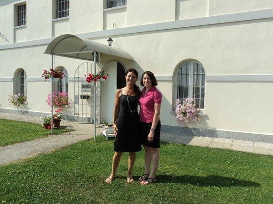La Dimora di Artemide: Ornella and I