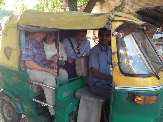 Shanti Home: Arranged Transportation...FUN!!!