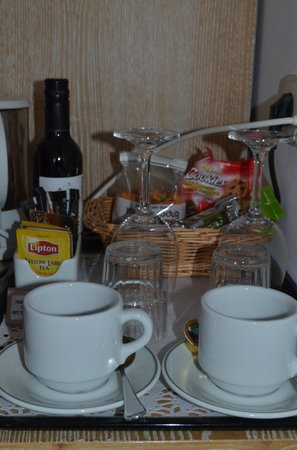 Hotel Thireas: welcome drink