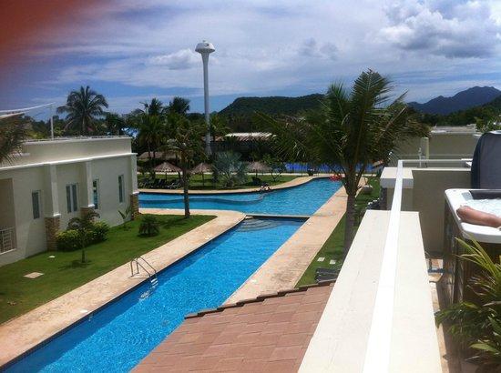 Oriental Beach Pearl Resort: Udsigt fra tagterrasse
