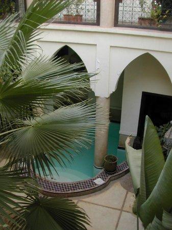Riad Al Faras: Courtyard