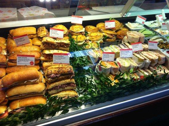 Cafe Metro: Choix de sandwich
